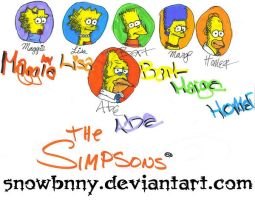The Simpsons by SnowBnny