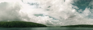Lake Panorama by LilioTheOne