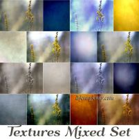 FREE Mixed Set of 8 Textures by ibjennyjenny