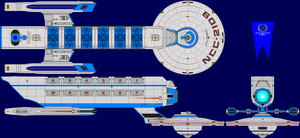 USS Kennedy Refit Multi-View by captshade