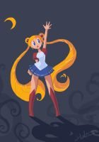 Sailormoon by H-SWilliams