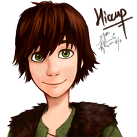 Hiccup by Tuno-kid