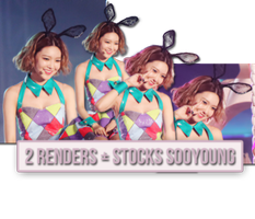 [151129] 2 RENDERS + STOCKS SOOYOUNG by nguyetsone2