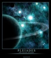Pleiades - The Seven Sisters by Omicron-