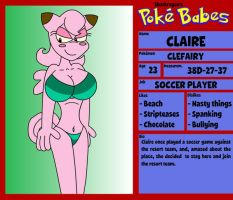 Claire Clefairy by TheSharkGuy