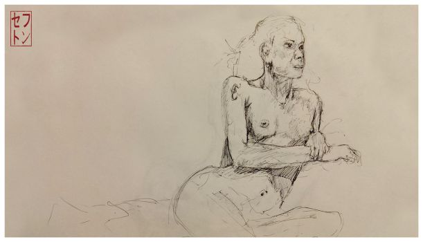Life Drawing [15/01/2014] Focus. by JackSephton