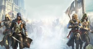 Assassin's Creed Unity Assassins Banner Wallpaper by MatrixUnlimited