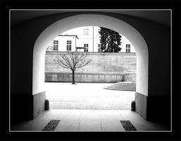 Arch by actress