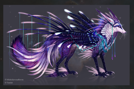 Selenic Stargazer Quillix by NukeRooster