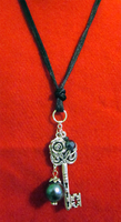 Key Necklace by BloodRed-Orchid