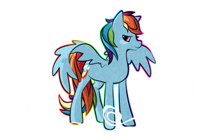RainbowDash by StickFigureQueen