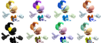 Rayman's Alternative Costumes (SSB4 fanmade) by JohnTheRayperson