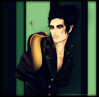 William And Mephistoles by LonyMoon