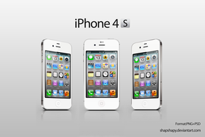 iPhone 4S_white by shapshapy