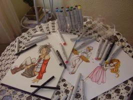 Copic Lover by chiili