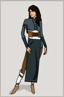 LOK: Waterbender Oc by EmaNosha