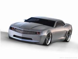 Chevy Camaro Concept chop by RedOXM