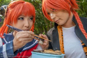 This food is mine by Hitomi-Cosplay
