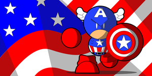 Captain America by cabal-art