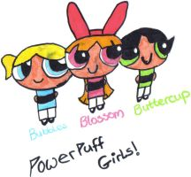 The Powerpuff Girls by OliviaWhyteART