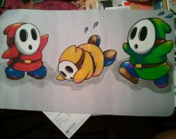 Custom Shy Guy playmat by UnHolyHillary