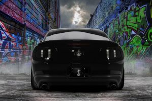 Shelby GT500 Black by lovelife81