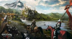 The Witcher 3 Blood and Wine Art by Alucard-748