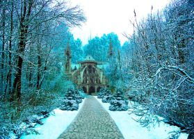 Premade Winter Background by EKeziahP