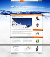 Climbing Wordpress Template by jonaska