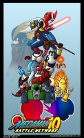 Mega Man Battle Network 10 by Espiownage