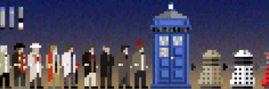 Doctor Who Pixels by jycius