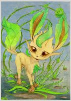 Leafeon as is by SSsilver-c