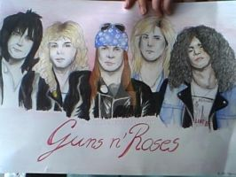 Guns n' Roses by loolule