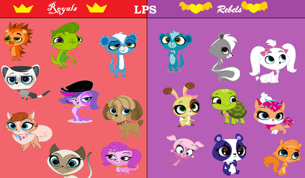 Littlest Royals and Rebels of Ever After High by Cmanuel1