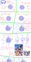 Simple Sonic tutorial XD by Sweetcorn-chan