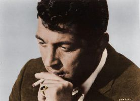 Smoking Dean Martin Colorized by ajax1946