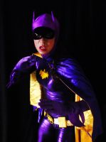 66 Batgirl Cosplay - Fight 1 by ozbattlechick