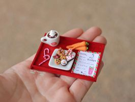 Christmas 2014 Santa's Cookie Tray by TheMicroBakery