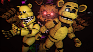 (SFM)The past its running [GoldenFreddy Version] by ShadowPikachuu