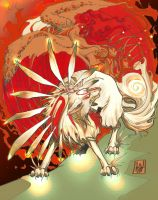 okami and the phoenix 2 by weshoyot