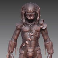 Predator - Zbrush WIP 17 by FoxHound1984