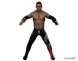 Alex Shelley for XNALara by deexie