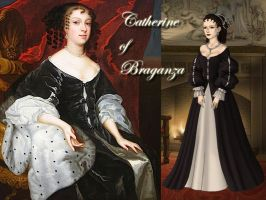 Catherine of Braganza by Nurycat
