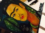 Frida Kahlo cover  by zachariahjm7