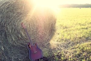 Acoustic Guitar by LLJPhotography