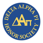 Logo Redesign: Delta Alpha Pi Honor Society by katdesignstudio