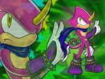 Espio the Chamaleon by ancode