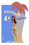 Tropical Island by artist2point5