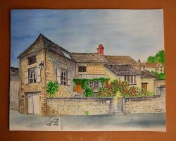 An old House in France by GwilymG