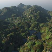 Material testing, vegetation and fields by davidbrinnen